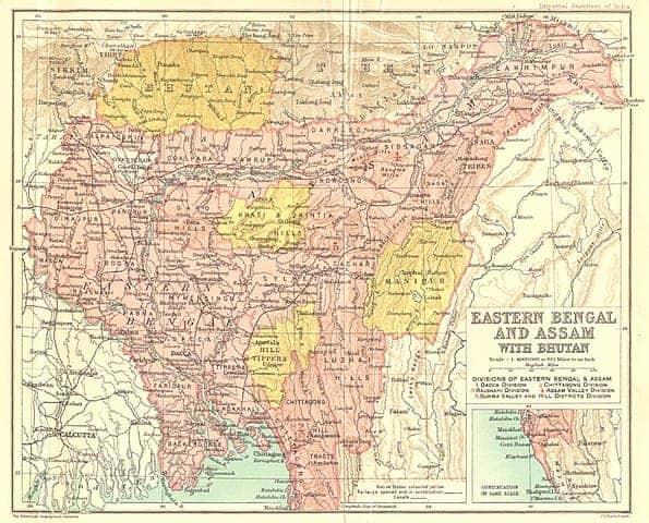 बंगाल विभाजन