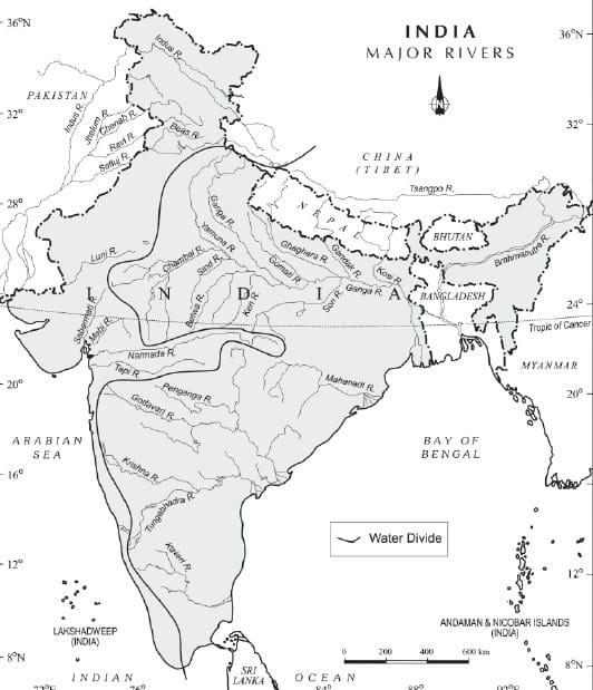 भारत के अपवाह तंत्र
